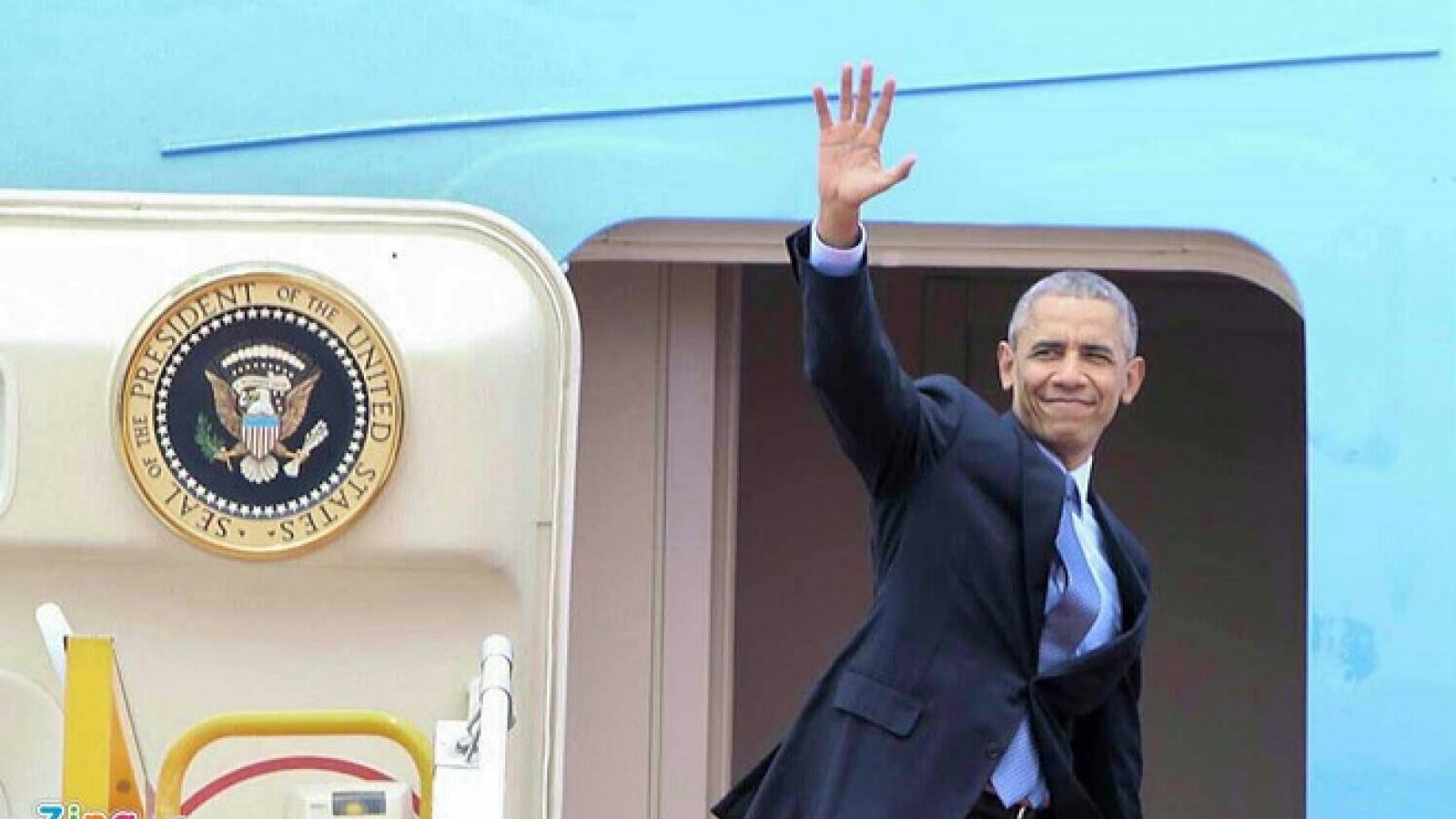 President Obama concludes Vietnam visit