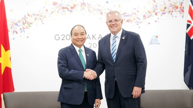 PM meets world leaders attending G20 Summit in Japan