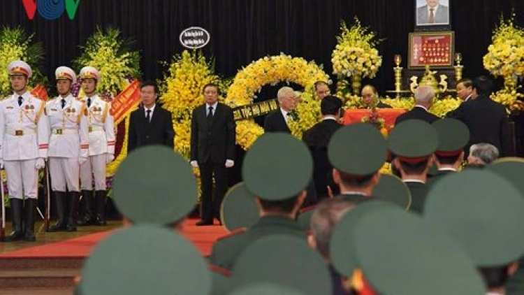Memorial services for former Party chief Do Muoi