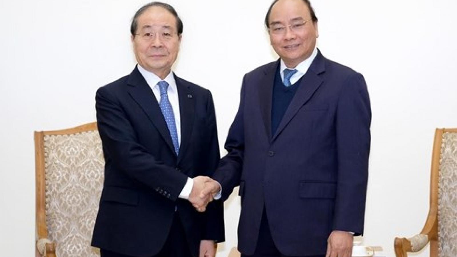 PM Phuc welcomes RoK's Panko Corporation Chairman