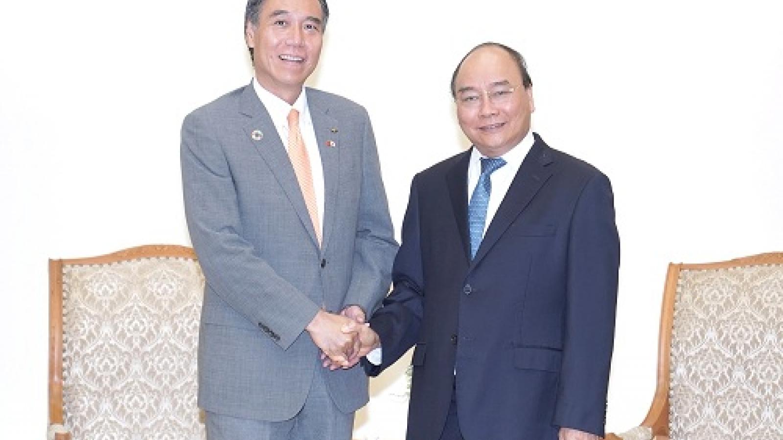 PM Phuc elated at Vietnam-Japan extensive strategic partnership