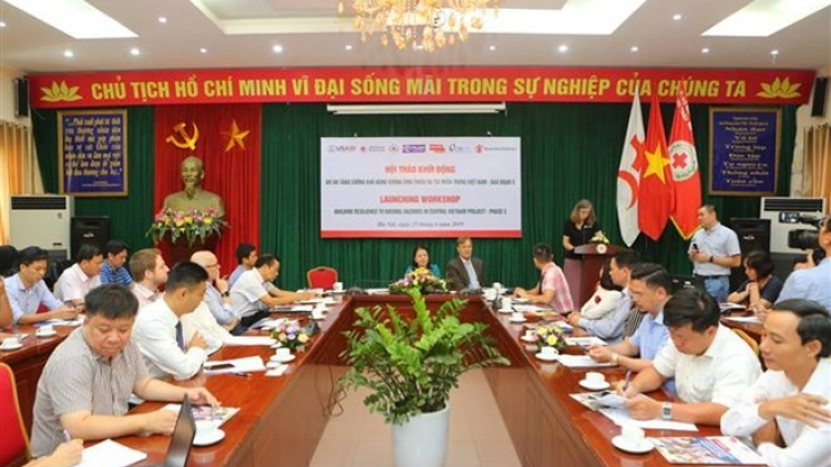 Project assists central provinces in coping with natural disasters