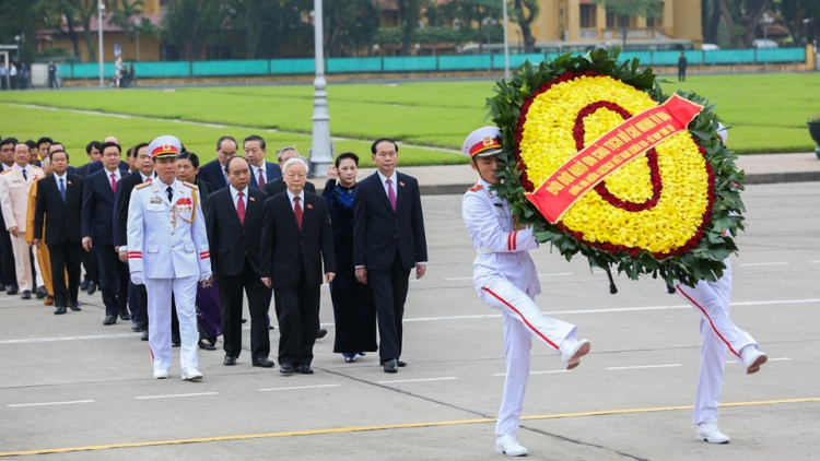 NA deputies pay tribute to President Ho Chi Minh