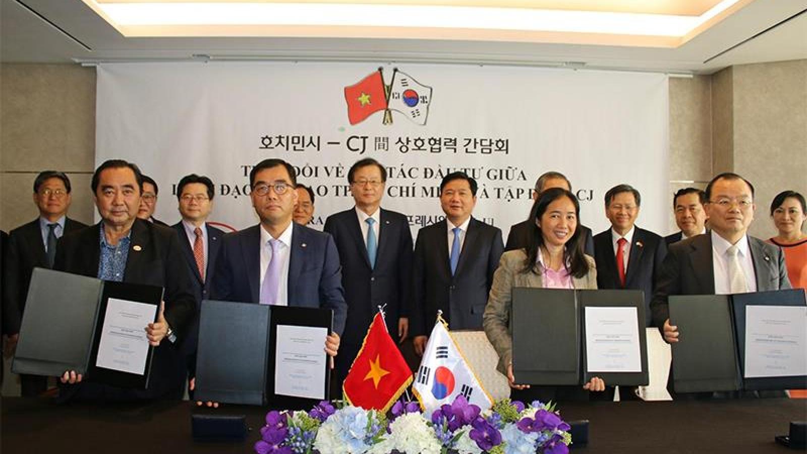 Korean CJ group teams up with Vietnam on food industry venture