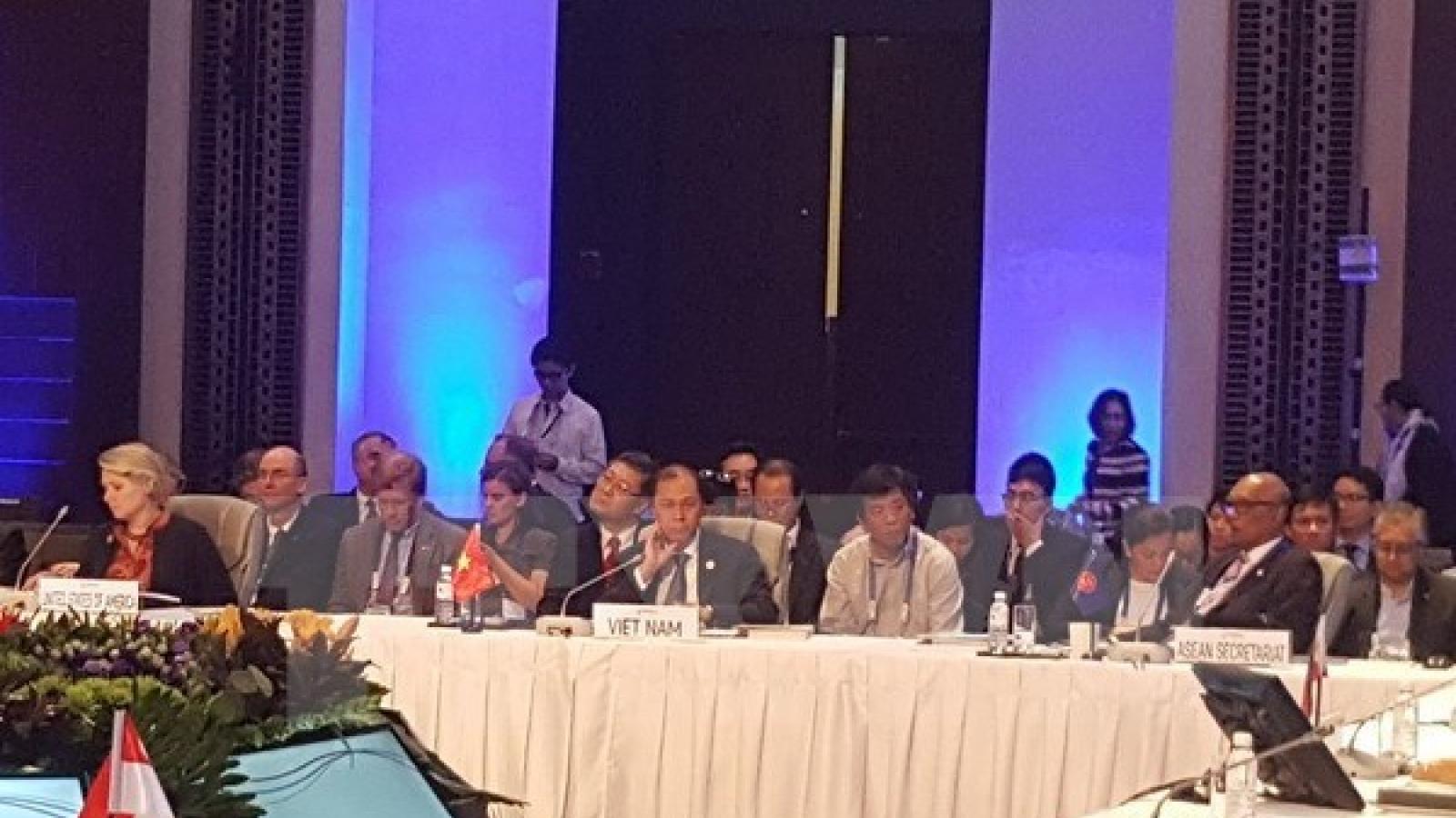 SOM discusses preparations for ASEAN Regional Forum meeting