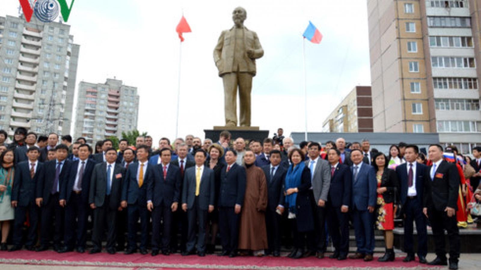 Ho Chi Minh statue inaugurates in Russia