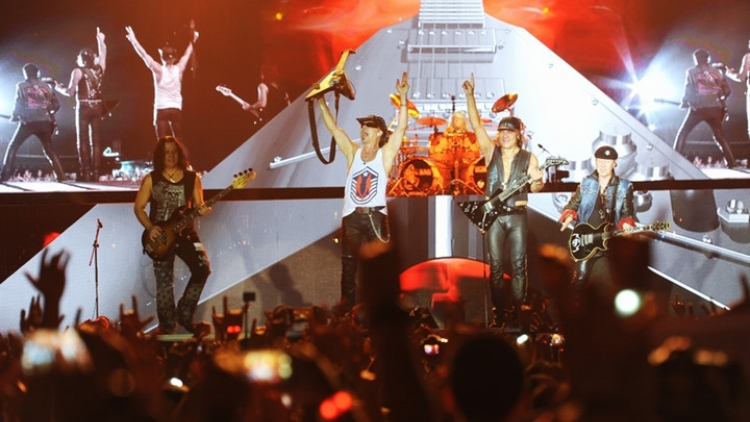 Scorpions stirs up Monsoon Music Festival 2016