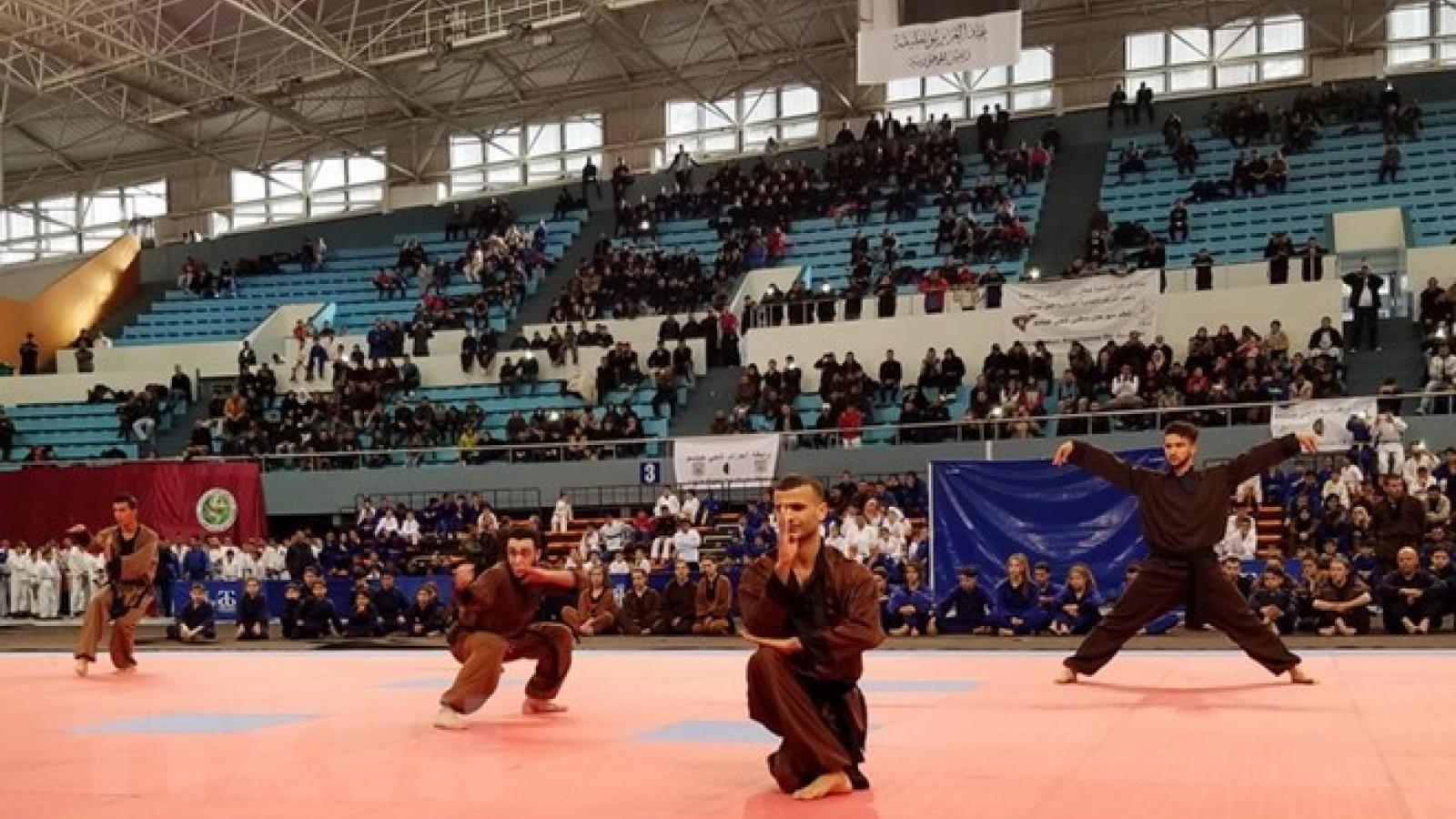 Vietnamese martial arts league makes debut in Algeria
