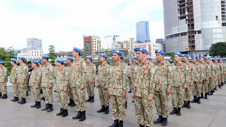 Vietnam's peacekeeping force ready to receive tasks in South Sudan