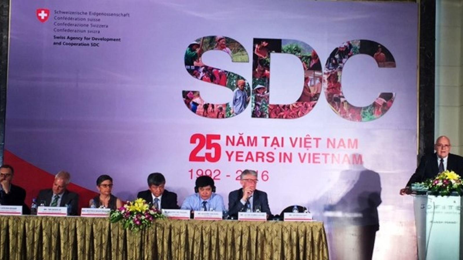 Switzerland helps Vietnam develop economy sustainably