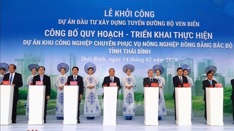 PM orders start of work on major projects in Thai Binh