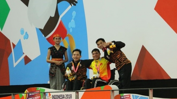 Swimmer Tung breaks another record at Asian Para Games