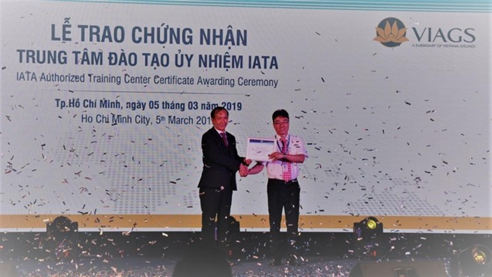 VIAGS authorised to host IATA training center course