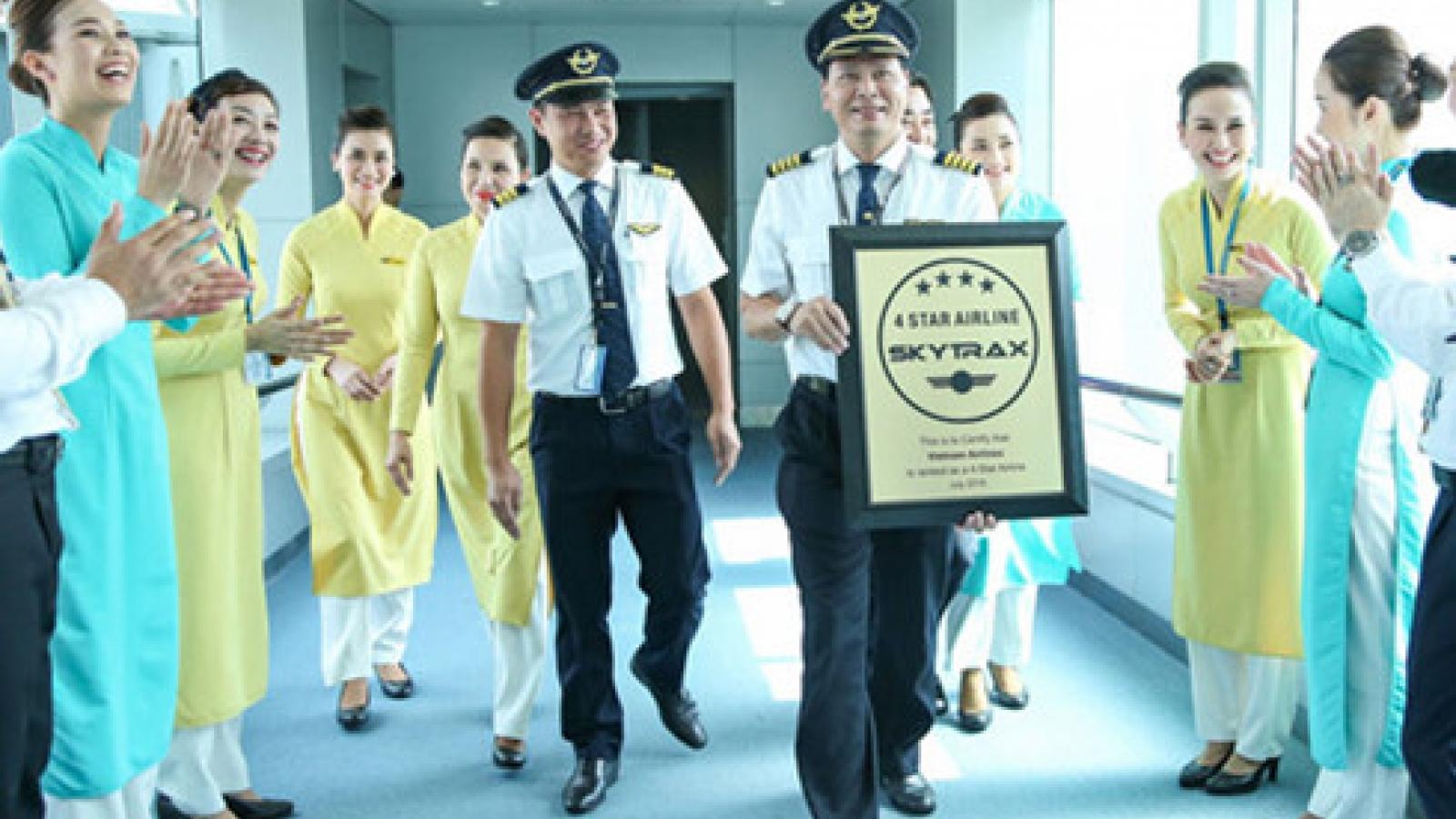Vietnam Airlines declared world's best in Skytrax awards
