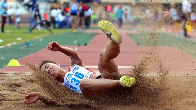 Vietnamese athlete wins gold at Asian Indoor Athletics Champs
