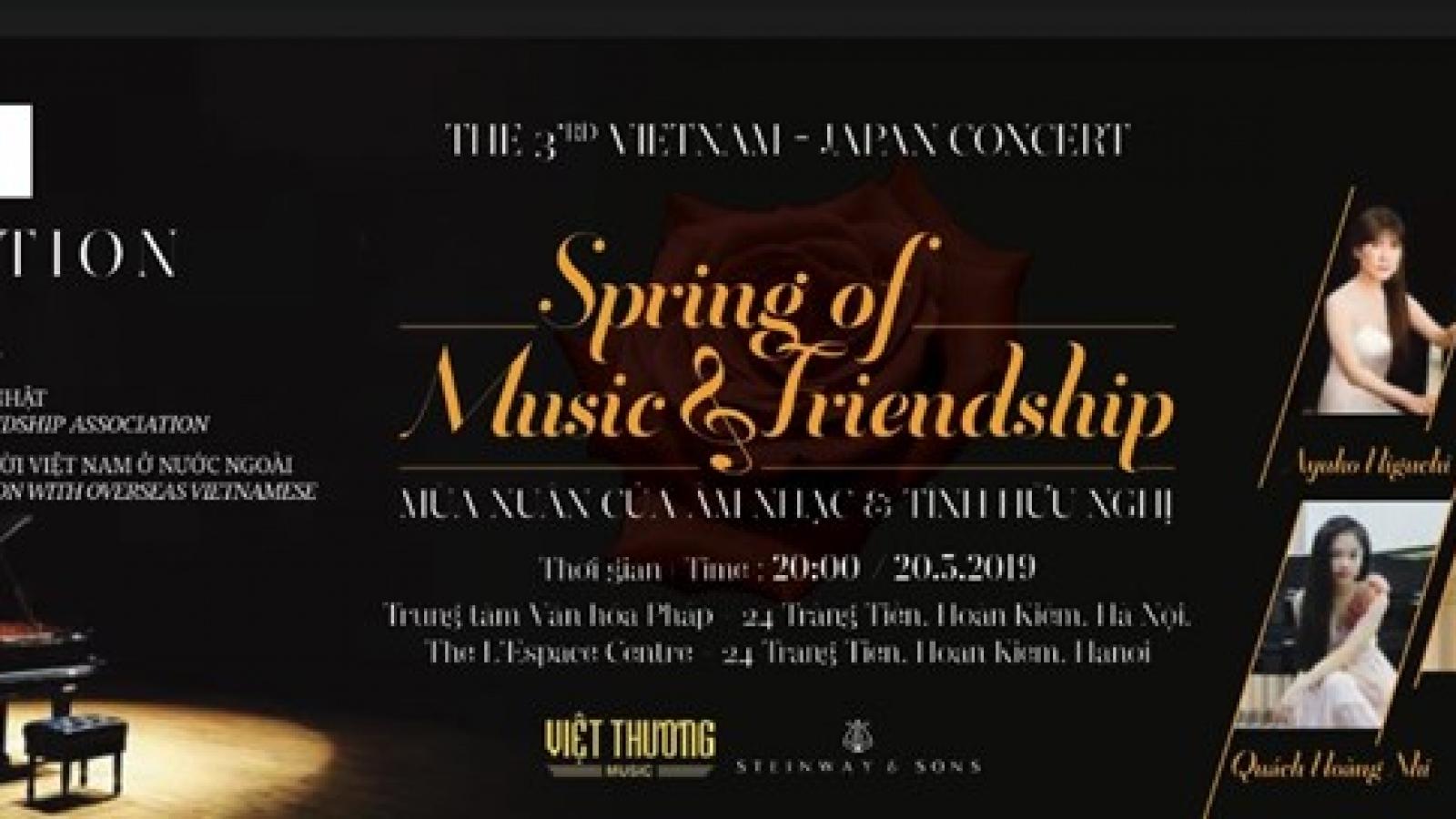 Vietnam-Japan Friendship Concert to take place in Hanoi