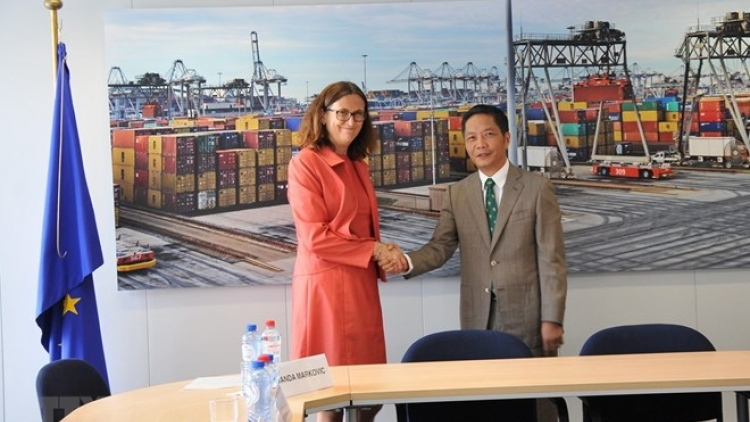 Vietnam, EU to sign EVFTA on June 30 in Hanoi