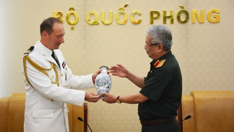 Vietnam-France defence ties enhanced: Deputy Defence Minister
