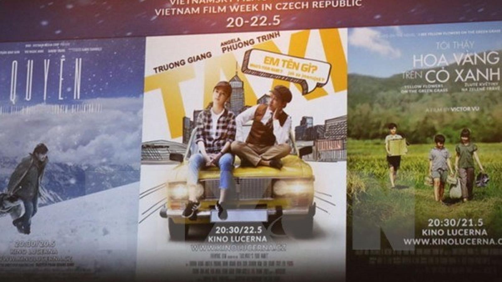 First Vietnam film week opens in Czech Republic