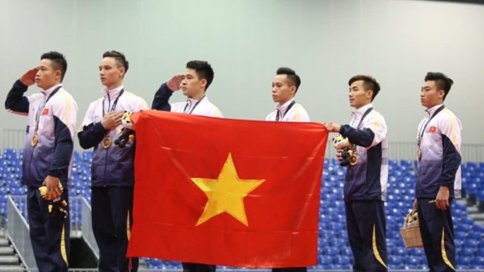 SEA Games 29: Vietnam wins gold in gymnastics