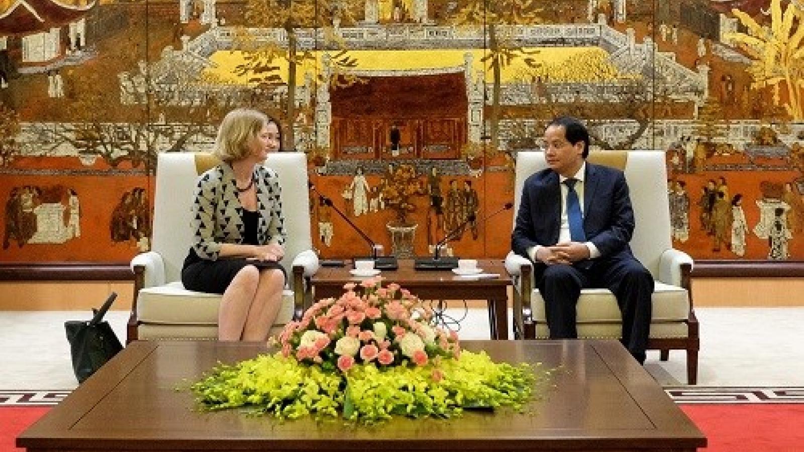 Hanoi, New Zealand steps up cooperation