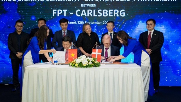 FPT becomes Carlsberg's global technology partner