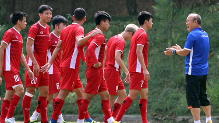Vietnam's Olympic team prepare for ASIAD third-place play-off