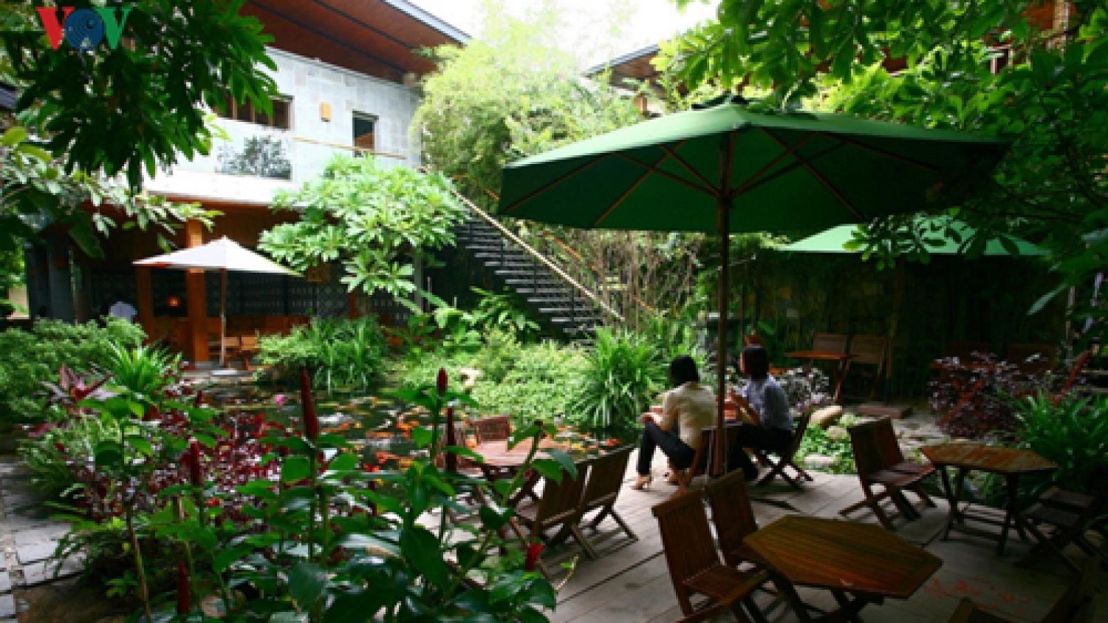 Unique coffee shop in Danang City