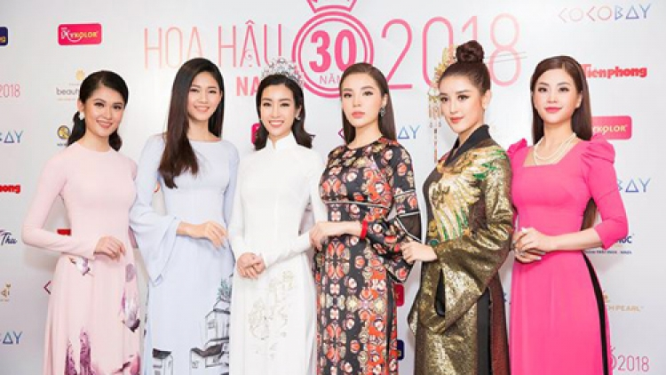 Beauty queens wow at Miss Vietnam 2018 conference