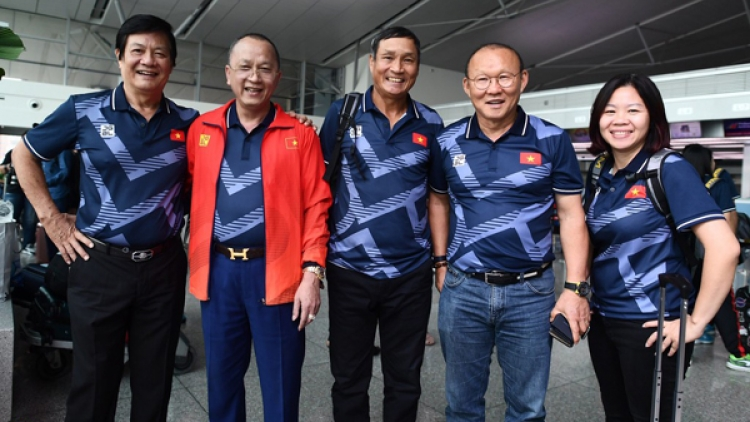 Vietnam's U22s depart from HCM City for SEA Games 30