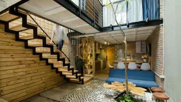 Archdaily features Hanoi small alley house