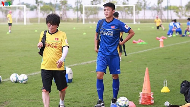 Trong Dai suffers injury in training session