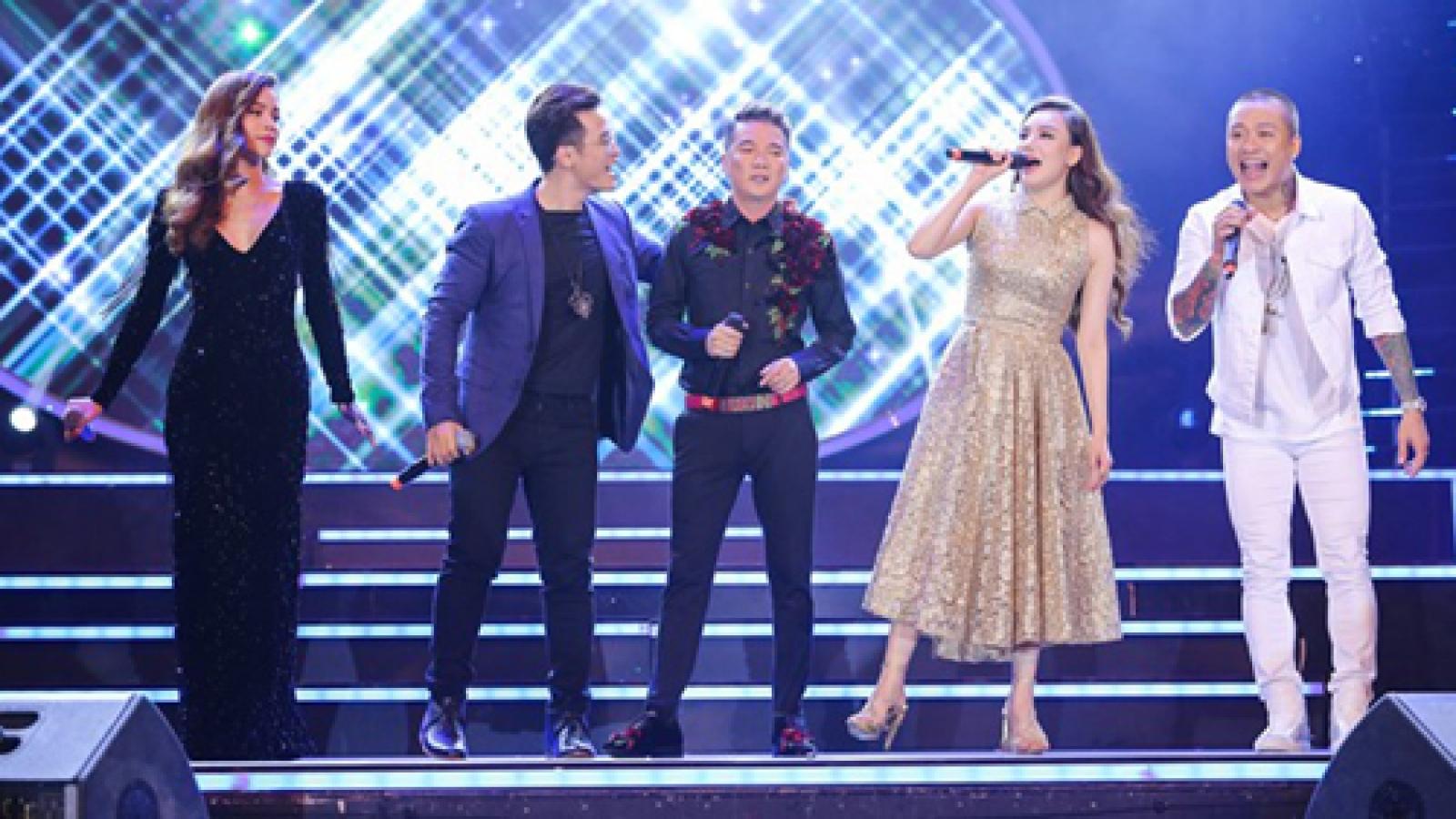 Celebs slay performances at V-Pop music awards