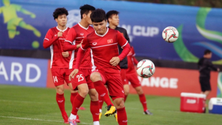 National squad prepares for Asian Cup opener against Iraq