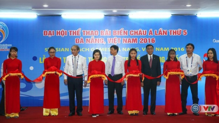 ABG 5 Int'l communications centre opens