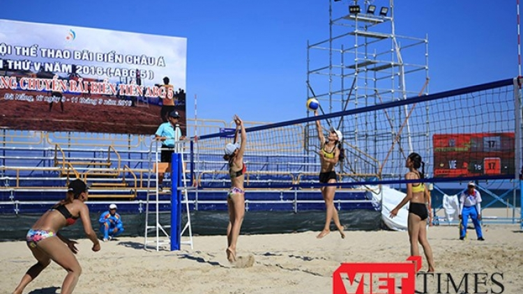 Supporting activities to add vitality to Asian Beach Games