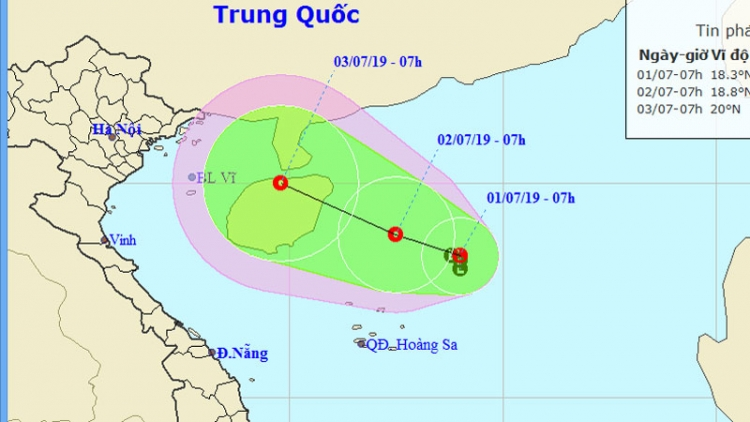 Tropical depression in East Sea likely to strengthen into a typhoon