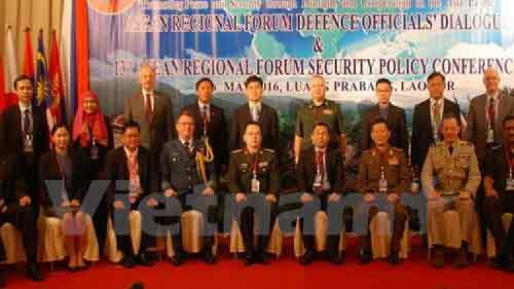 ARF defence officials discuss humanitarian, security issues