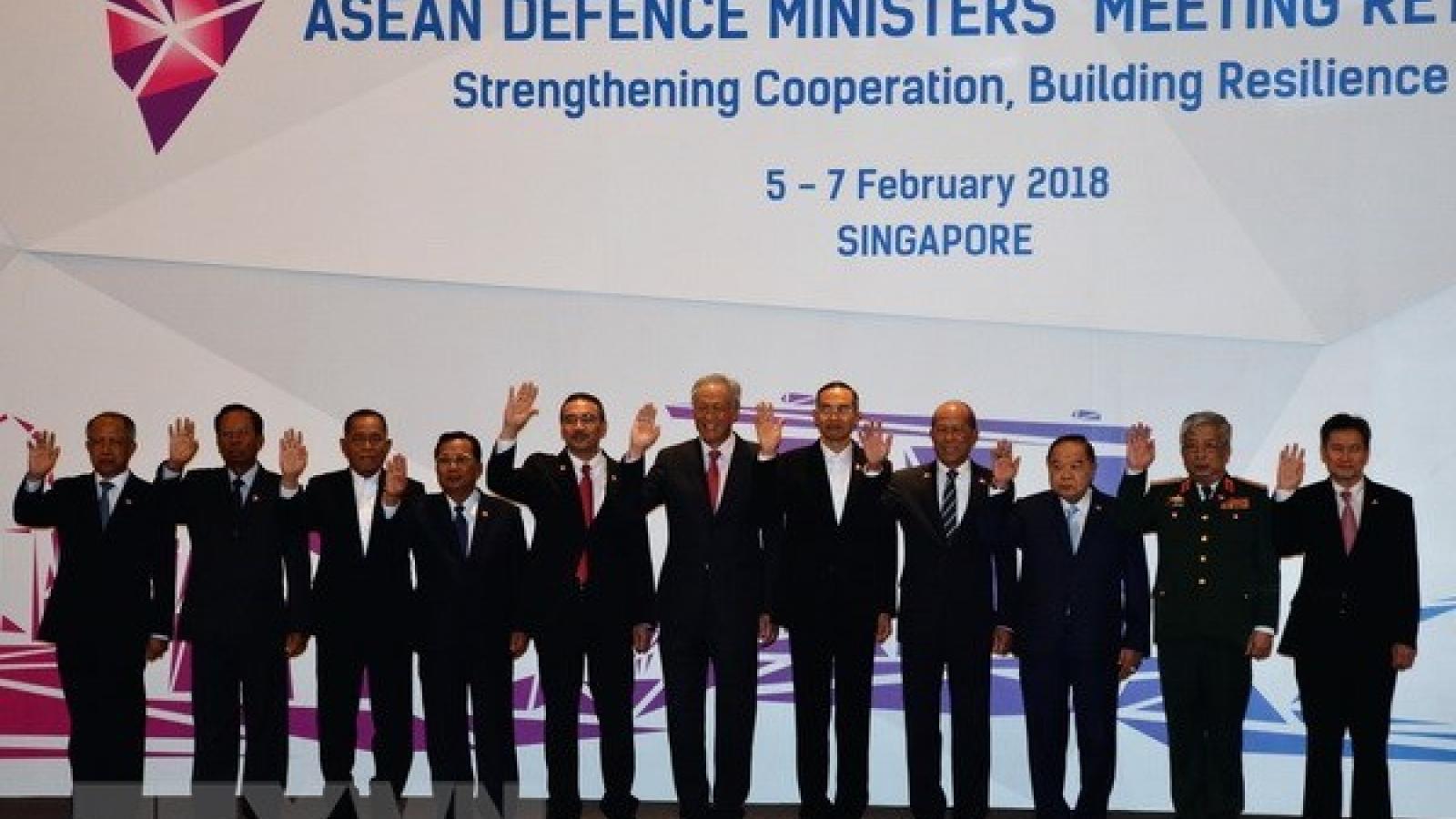 ASEAN, partners meet in Singapore to strengthen defence ties