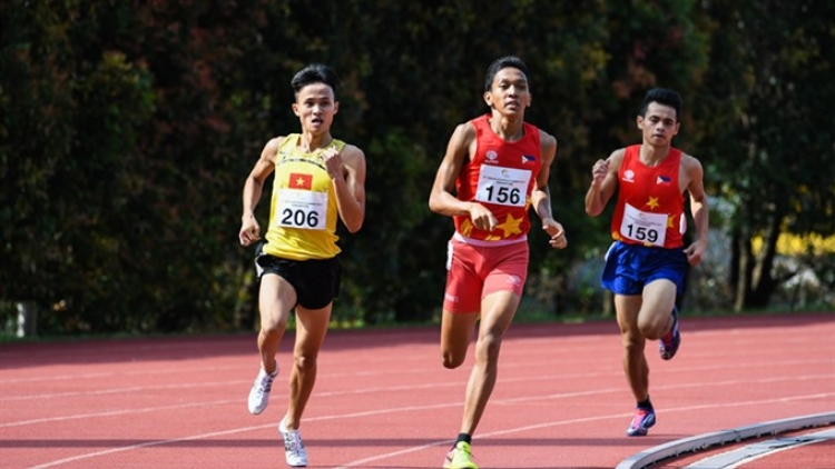 Track-and-field athletes pocket gold in ASG