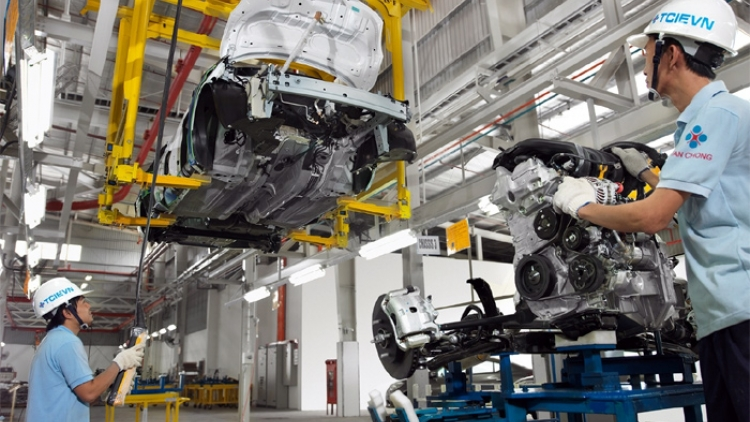 MOIT works to boost auto industry localization in 2017