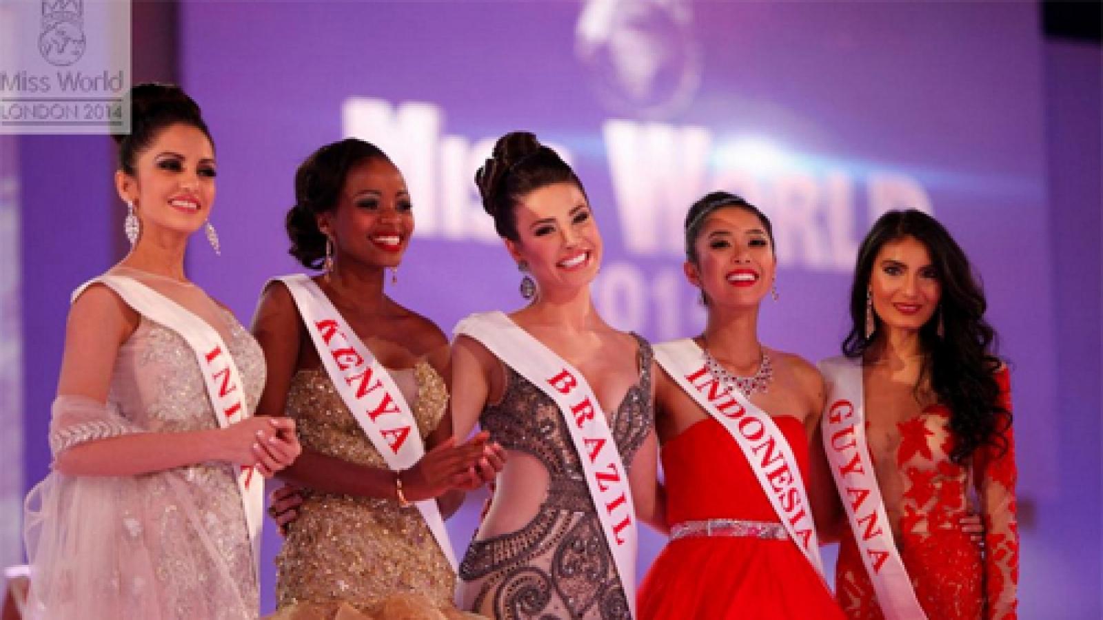 Miss World Vietnam Nguyen Thi Loan in final top 25