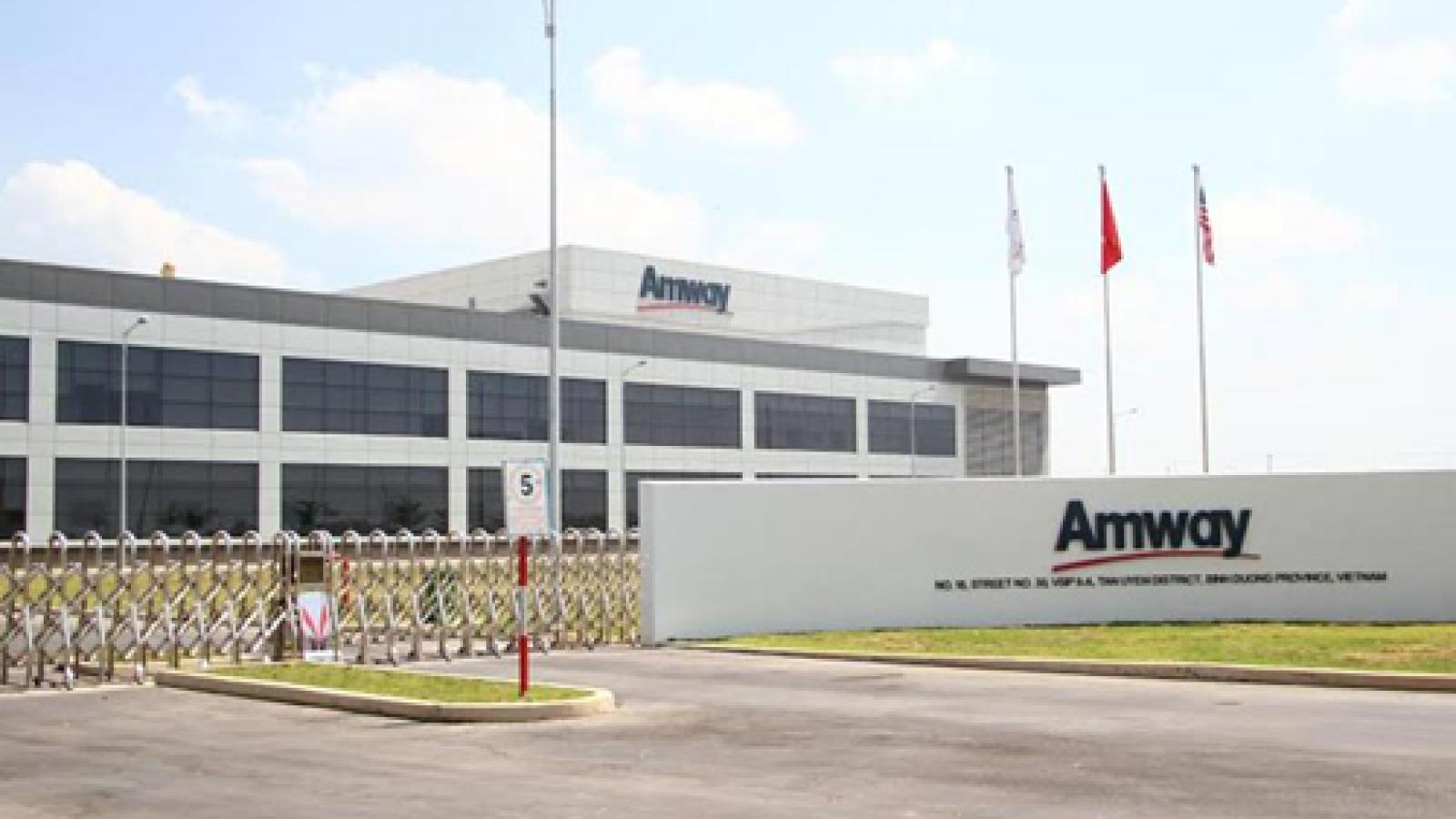 Amway found violating multiple regulations on multi-level marketing