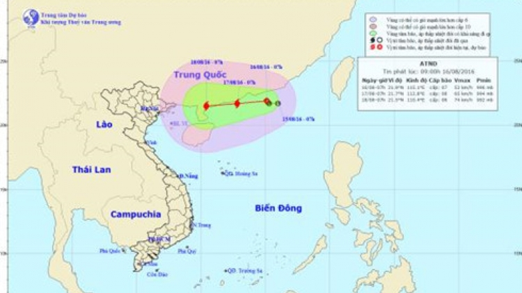 Typhoon to form in East Sea