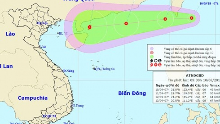Typhoon and super typhoon expected in East Sea this week