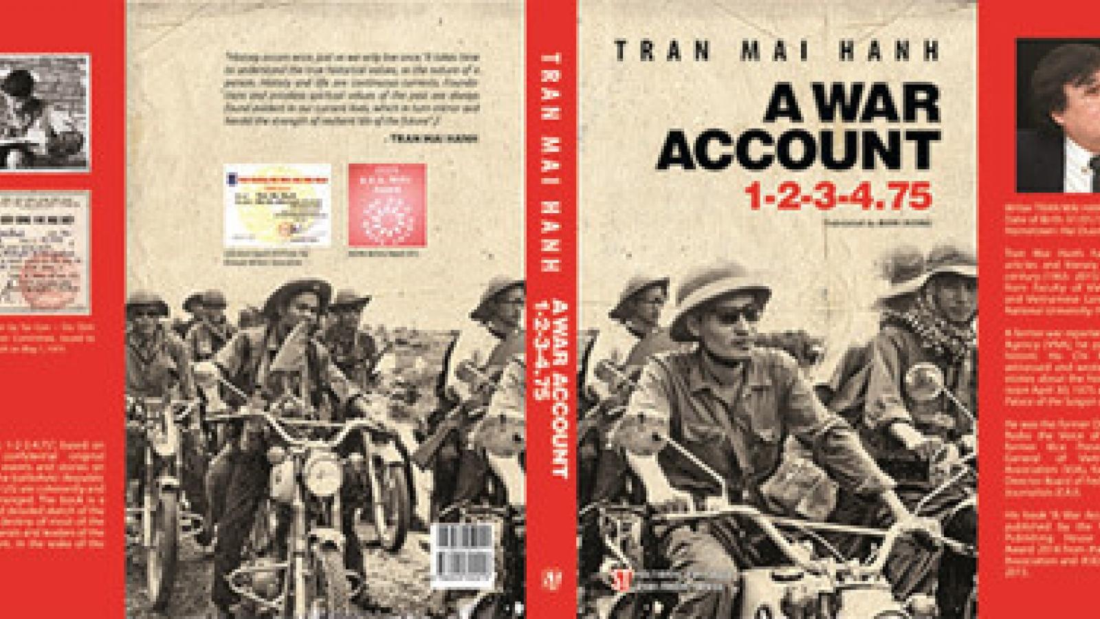 Journalist-writer Hanh's historical-documentary novel