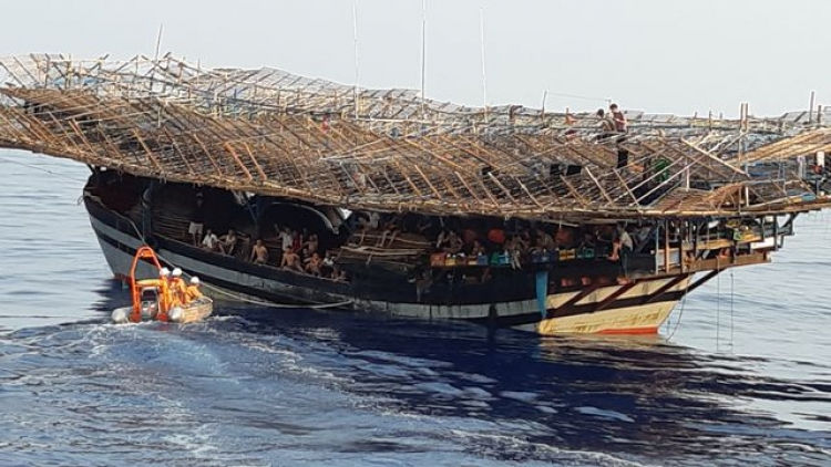 41 fishermen rescued with three missing after ship sinks in Truong Sa