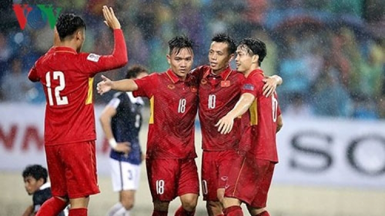 Vietnamese national squad to train in RoK ahead of AFF Cup