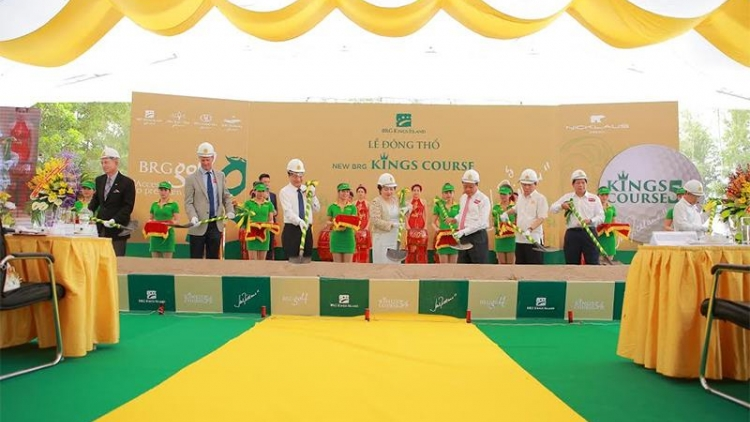 Jack Nicklaus begins work on signature golf course in Vietnam