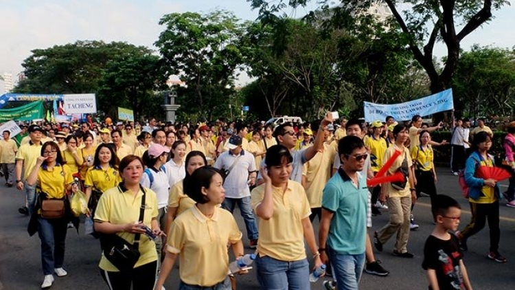 Over 15,000 people join Lawrence S. Ting charity walk